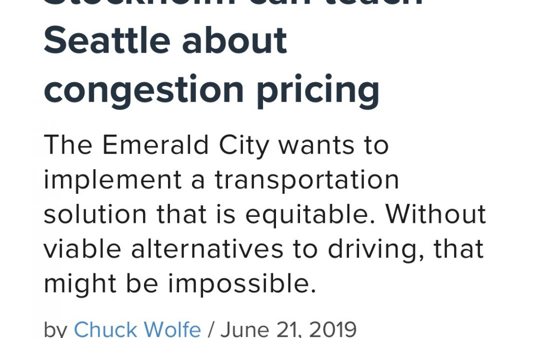 On Congestion Pricing and the Importance of Context