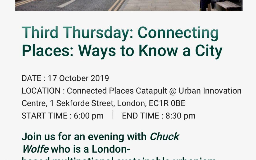 London Presentation Will Examine Ways to Know a City